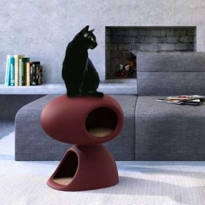 QEEBOO 35001QUP-BX CAT CAVE BORDEAUX Оригинал.