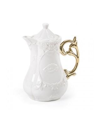 SELETTI 09866 I-Wares Gold I-Teapot Оригинал.