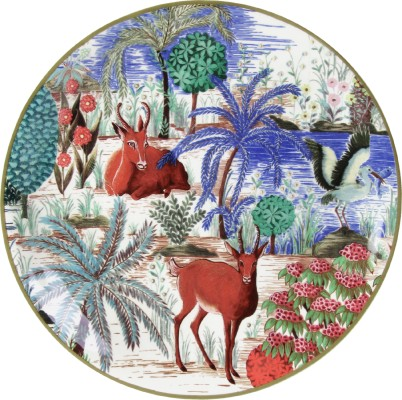 GIEN 1853ACA101 Canape Plate Antelope Оригинал.
